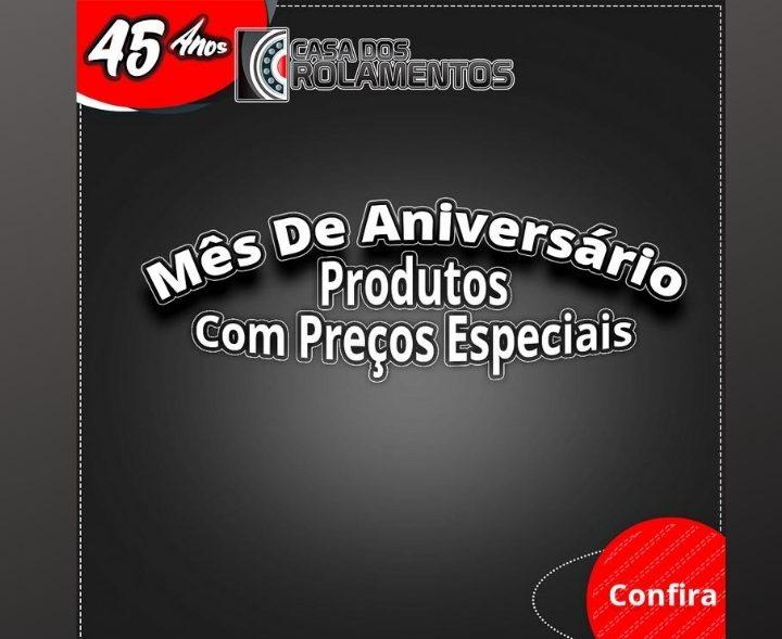 PROMOÇÃO DE ANIVERSÁRIO  SEMANA 10 A 15 DE AGOSTO