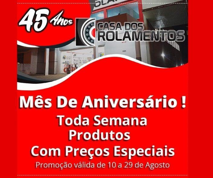 45 ANOS DA CASA DOS ROLAMENTOS